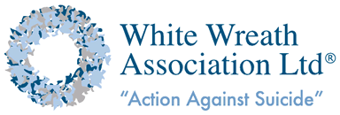 White Wreath logo