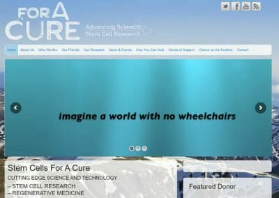 ForACURE – Stem Cell Research