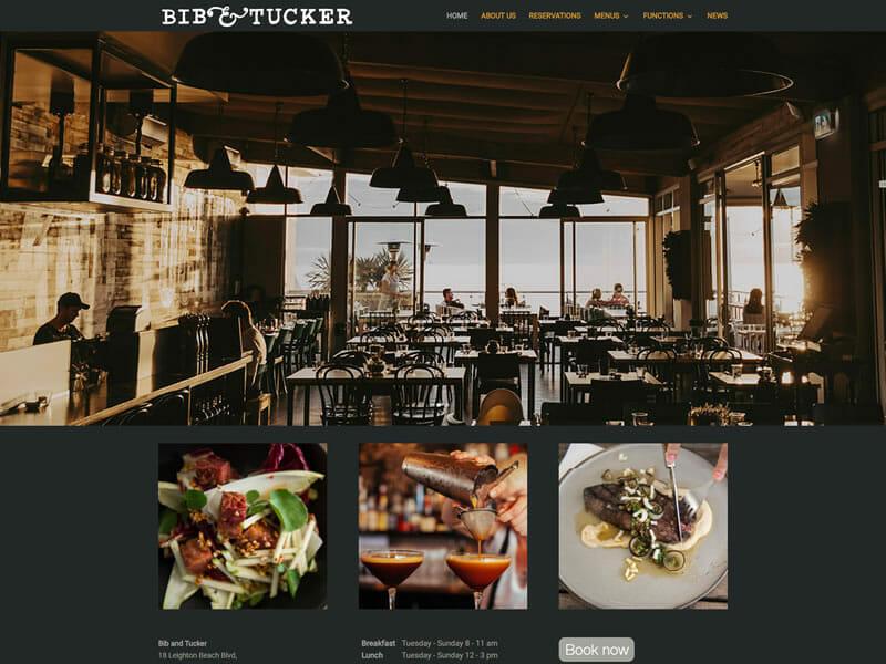 Bib and Tucker Website Redevelopment